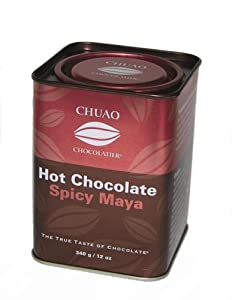 Chuao Chocolatier Hot Chocolate Spicy Maya 12-ounce Tin by Chuao