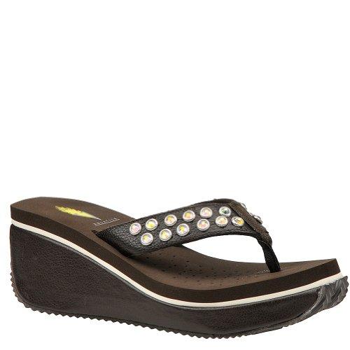 Volatile Women'S Fineshrine Sandal - 7 M - Brown front-753761