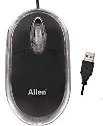 """WireSwipeâ""""¢ Top Selling Ranz USB Wired Optical Mouse 1000 DPI -HI Resolution 14 inches/Sec Speed"""