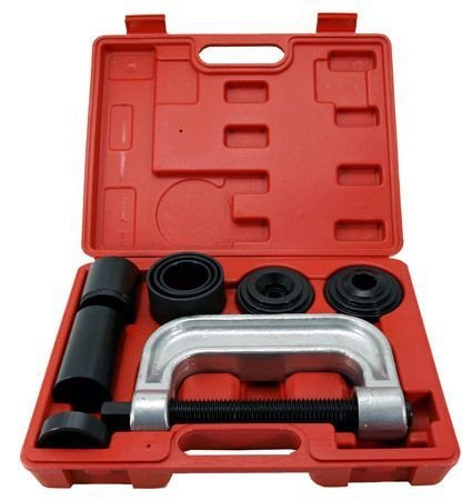 Cal-Hawk 4-in-1 Ball Joint Deluxe Service Kit Tool Set 2wd & 4wd Vehicles Remover Install (Color: Red, Tamaño: 36.00 * 27.00 * 7.00cm)
