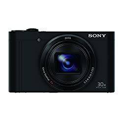 Sony Cybershot DSC-WX500/B 18.2MP Digital Camera (Black)