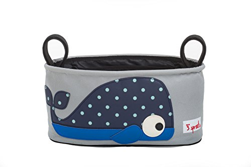 3 Sprouts Stroller Organizer, Whale