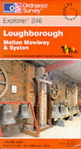 Loughborough, Melton Mowbray and Syston (Explorer Maps)