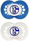 MAM 661877 - Ulti MAM Silikon, Schnuller, Bundesliga: FC Schalke 04, Doppelpack