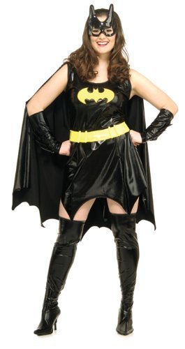 Batgirl Costume for Women. Plus Size 20 to 22