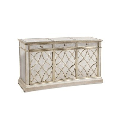 Cheap Borghese Mirrored Concave Door Console Table (8311-565)