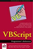 VBScript: Programmer's Reference (0764543679) by Clark, Susanne