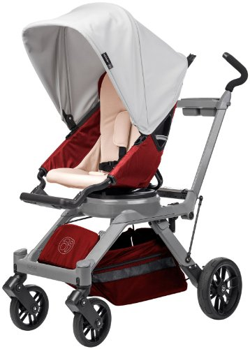 Orbit-Baby-G3-Stroller-Slate-Ruby-Gray