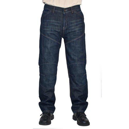 Roleff Racewear 17532 Jean Aramide Pantalon Moto, Bleu, Taille : 32