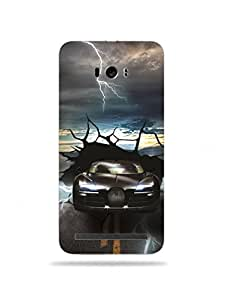 alDivo Premium Quality Printed Mobile Back Cover For Asus Zenfone Selfie / Asus Zenfone Selfie Printed Mobile Case (MKD0010-3D-A2-AZS)