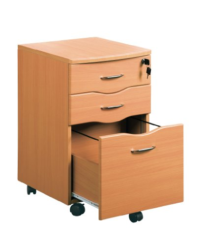 Piranha PC10b Three Drawer Filing Pedestal to match our range of desks