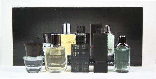 Burberry Fragrances 5 Piece Eau De Toilette Miniature Gift Set For Men