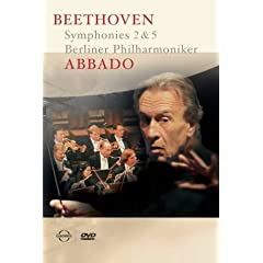 Abbado / Beethoven : Symphonies 2 &amp; 5 [DVD] [Import]
