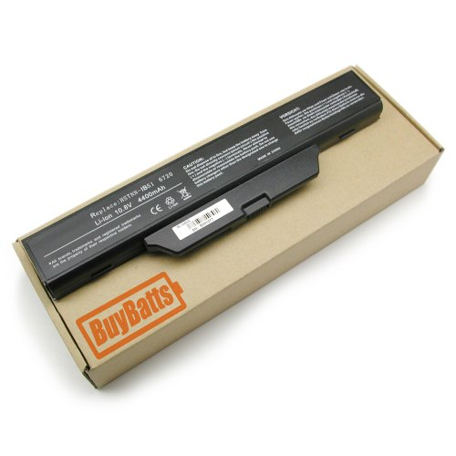BuyBatts Battery Fits HP Business Notebook 6530S, 6531S, 6535S, 6720S, 6730S, 6735S, 6820S, 6830S, HP 550 Series, Compaq 510, 511, 515, 516, 610, 615 Series, GJ655AA, GJ655AA#ABH, HSTNN-I39C, HSTNN-I40C, HSTNN-IB51, HSTNN-IB52, HSTNN-IB62, HSTNN-XB51, HST