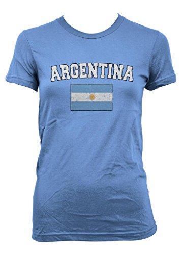 Cybertela Faded Argentina Flag Junior Girl
