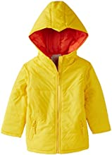 Ello Boys' Jacket (ZEKBTWAW14253_Yellow_size-14 Yrs)