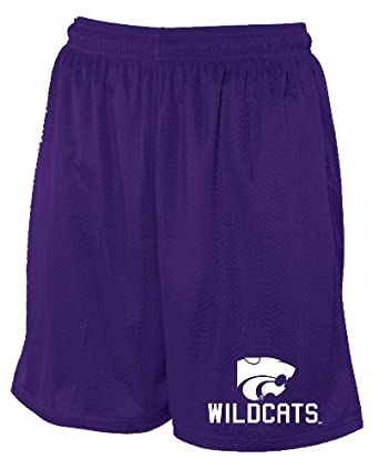Buy NCAA Kansas State Wildcats Mens Mesh Pocket Short by Russell Athletic