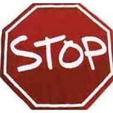 LA Rug Stop Sign Rug 39