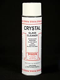 Technichem Corporation CRYSTAL Glass Cleaner (12-19oz cans)