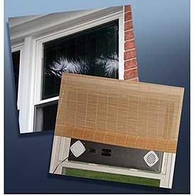 Double Hung Window Solar Air Heater Panel - 32