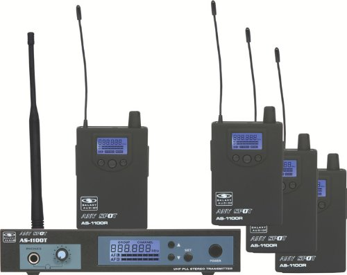 Galaxy Any Spot AS-1100-4 Band Pack System -