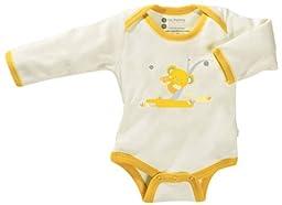 Babysoy Unisex Baby O Soy Bodysuit - Koala - 18-24 Months
