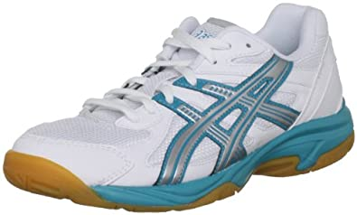 ASICS LADY GEL-DOHA Indoor Court Shoes - 6 - White