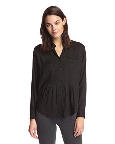 James & Erin Women's Pocket Pleated Tunic