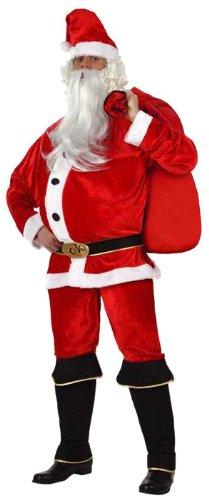 Atosa 8422259121626 - Verkleidung Weihnachtsmann Größe: 50/52