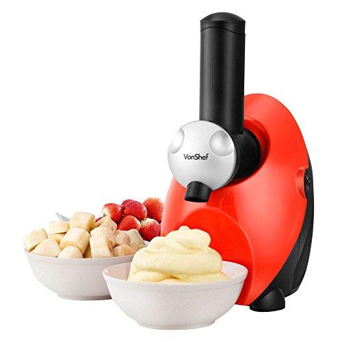 VonShef Frozen Yogurt Fruit Ice Cream Smoothie Dessert Maker Blender Machine (Frozen Dessert Maker compare prices)
