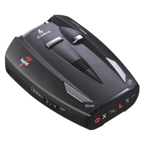 Cobra ESD7400 Performance Radar/Laser Detector with Ultra Bright Data Display, Safety Alert and VG2/Spectre Surveillance Undetectable