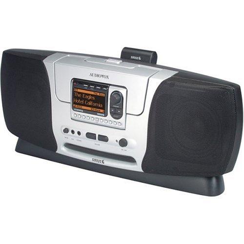 Audiovox Sir-Bb3 Sirius Satellite Radio Boombox