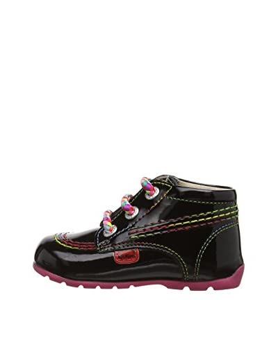 Kickers Stivaletto Stringato Kick H [Nero]