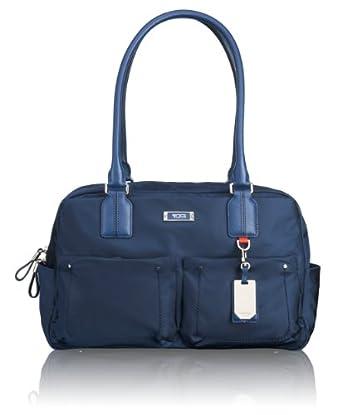 (顶级)途米Tumi Voyageur Geneva Carry All Bag日内瓦时尚拎包 蓝 $205