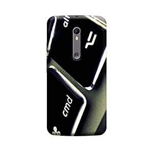 Digi Fashion Designer Back Cover with direct 3D sublimation printing for Motorola moto X style