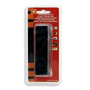 6 oz Black Rouge Metal Polishing Buffing Compound - Deep Finish