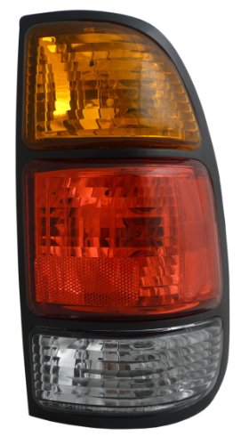Taillight Rear Lens Left Driver Side Taillamp for Plymouth Dodge Van Full Size