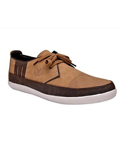 Sir Corbett Men's Beige Casual Shoe - B015OFZYGK