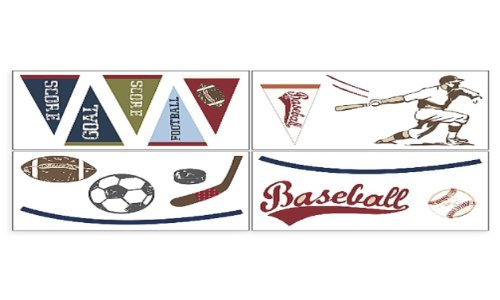COCALO PLAY BALL WALL APPLIQUES - 1