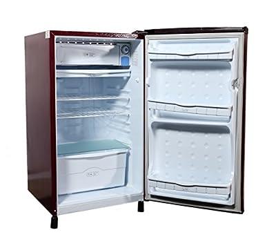 Videocon VA163BBR-FDA Direct-cool Single-door Refrigerator (150 Ltrs, 2 Star Rating, Burgundy Red )