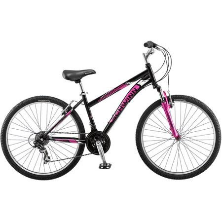 26 Schwinn Sidewinder Women S Mountain Bike Matte Black