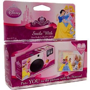 Disney Princess Smile With 35mm Flash Camera