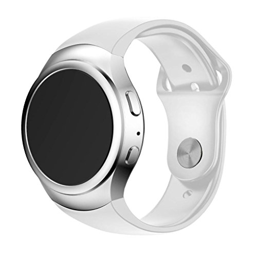 JACKY-Luxury-Silicone-Watch-Band-Strap-For-Samsung-Galaxy-Gear-S2-SM-R720-White