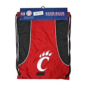 Buy NCAA Cincinnati Bearcats Axis Backsack, Red by Concept 1
