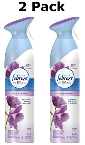 Febreze Air Effects Spring and Renewal Air Freshener Spray, 9.7 Oz (2 Pack)