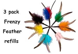Feather Frenzy refill -3 pack - Fits Da Bird & Frenzy Cat Toys