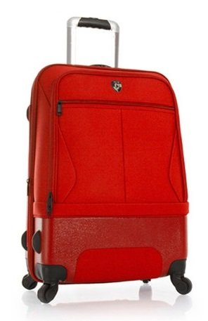 Heys - Hybrid Spinner Air-Lite II Rot Trolley mit 4 Rollen Gross