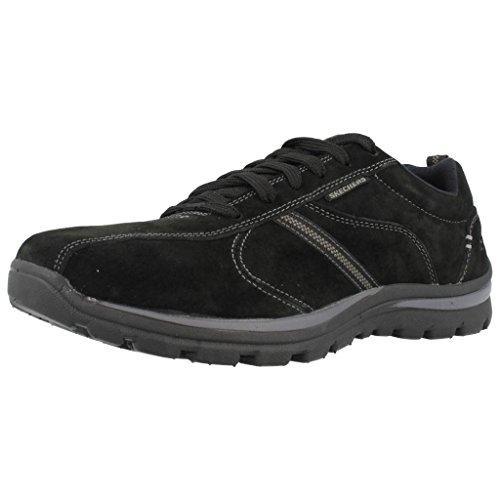 Chaussures de ville, color Noir , marca SKECHERS, modelo Chaussures De Ville SKECHERS 64533 SUPERIOR- ABRASIVE Noir