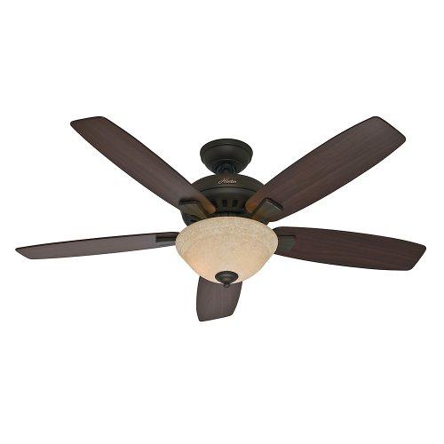 Hunter Fan Company 53176 Banyan 52-Inch Ceiling Fan, New Bronze (Bronze Ceiling Fan 52 compare prices)