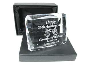 ... Gift Idea, Silver Wedding Anniversary Gifts: Amazon.co.uk: Kitchen